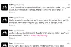HMV's Twitter feed hijacked as reports of redundancies emerge