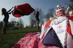National Express partners Royal Wedding camping event