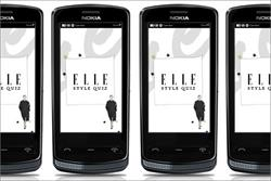 Elle magazine creates app and campaign for Nokia 700