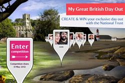 The National Trust turns to Facebook for Great British Day Out