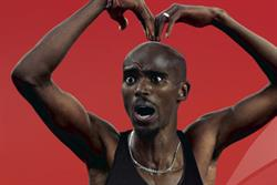 Virgin Media gets set for Mo Farah's Mobot campaign