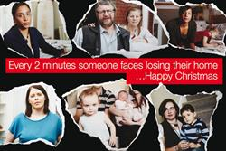 Shelter uses 'real' homeless in Christmas campaign