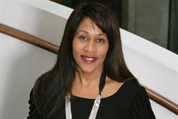 Karen Blackett receives an OBE for services to media