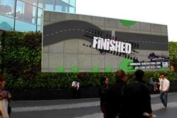 Swiftcover races to Westfield's digital screen