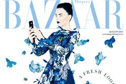 Harper's Bazaar UK issue to feature Samsung branded content