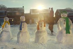 What is the top Christmas ad of 2013?