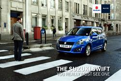 Suzuki rolls out Swift TV campaign