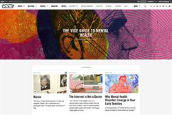 Vice partners with Mind for 'empowering' mental health guide