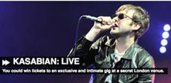 Absolute Radio to stage secret Kasabian gig
