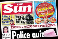 Paper Round (1 April) - Which clients are advertising in the national press?