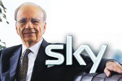 News Corp tables intention to buy BSkyB in Europe