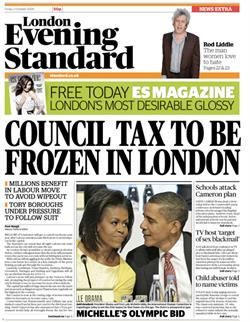 Evening Standard to go free from 12 October