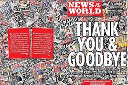 News of the World admits 'we lost our way' as final edition hits newsstands