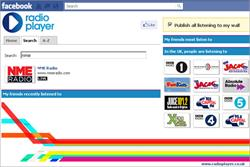 UK Radioplayer launches on Facebook