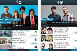 C4 brings out dedicated 4oD iPhone app