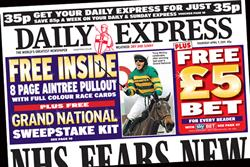 Paper Round (7 April) - Which clients are advertising in the national press?