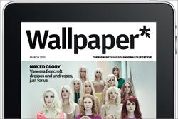 Wallpaper becomes IPC's first monthly iPad title
