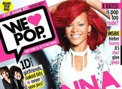 Egmont launches new teen magazine 'We Love Pop'