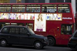 Gap first to use illuminated bus format