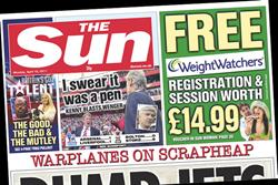 Paper Round (18 April) - Which clients are advertising in the national press?