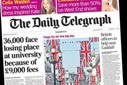 Paper Round (20 April) - Which clients are advertising in the national press?