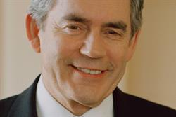 Prime minister Gordon Brown defends £6 internet levy