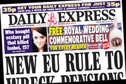Paper Round (26 April) - Which clients are advertising in the national press?
