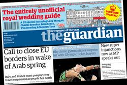 Paper Round (27 April) - Which clients are advertising in the national press?