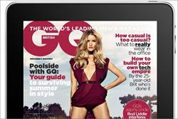 GQ magazine's iPad app preview exceeds 40,000 downloads