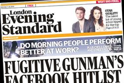 Evening Standard Limited reports £28m loss