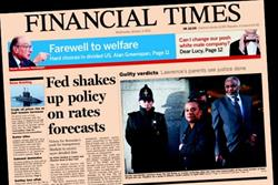 FT lifts cover price for second time in three months