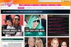 Yahoo to roll out celebrity news site omg! in Europe