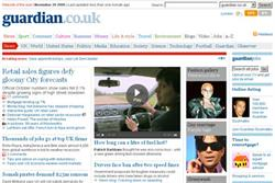 Guardian website breaks 25-million user barrier