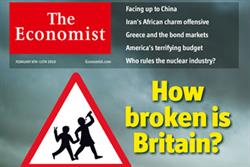 MAGAZINE ABCs: Current affairs sector boosted as Economist continues ascent