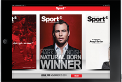 Sport launches iPad app with GroupM
