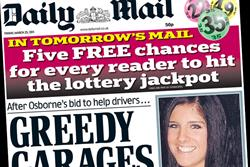 Paper Round (25 March) - Which clients are advertising in the national press?