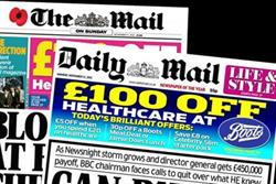 Mail Newspapers offer agencies chance to win £250k ad deal