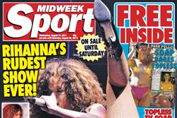 Midweek Sport debuts with sales of 80,000, claims paper's boss