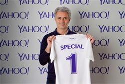 Yahoo turns to Chelsea's 'Special One' in social media hunt for football stars