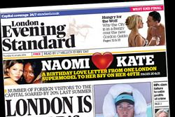 London Evening Standard profits double in 2013