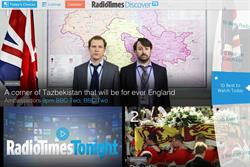 Radio Times leaders talk about the launch of its first iPad app DiscoverTV