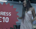 Supermodel Naomi Campbell gets price-tag rage in Tesco clothing ad