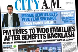 City AM swings into profit for the first time