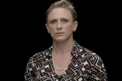 Daniel Craig dons a dress for equality