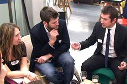 Industry turns out for Nabs 'speed mentoring' event