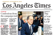 Los Angeles Times cuts 10% of editorial staff