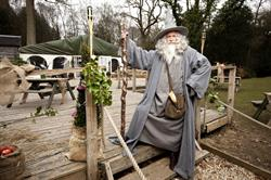 Virgin Media hosts Hobbit event at Chewton Glen
