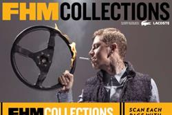 FHM Collections claims 'world's first fully interactive magazine' with watermark issue