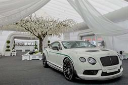 Bentley and Lamborghini's 10-year anniversary at the NEC Birmingham