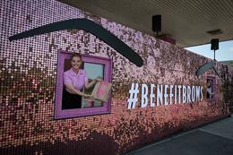 Behind the scenes: Benefit's 'GlastonBrow' drive-thru